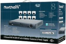 Northern HD TVI kit-1-8CH,2TB DVR+8-2MP,2.8mm 1080p IR Eyeball cameras-#TVIKIT8