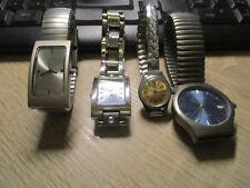 La RACCOLTA # 4 orologi da polso # Fabiani-TCM-TCM-Meister ANKER - #