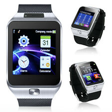 Bluetooth Sync SmartWatch + Phone w/ Built-In Camera + Notifications + Pedometer