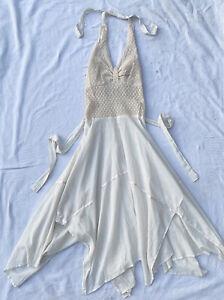 Vintage 70s minimalist keyhole Parisian mini dress prom
