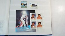 Briefmarkenalbum Briefmarken Michael Jackson St. Vincent Stamps  Alb-690
