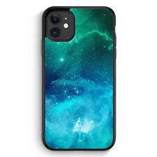 Galaxy Universe Nebula Blau-Grün iPhone 11 Silikon Hülle Motiv Design Muster ...