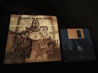LE GUIDE DE MAD SHOW 1988 FRENCH EDITION MANUAL COMMODORE AMIGA ORIGINAL DISC
