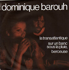 DOMINIQUE BAROUH LA TRANSATLANTIQUE FRENCH ORIG EP