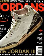 Slam Magazine KICKS 2019 Sneakers Jordans Vol 5 MICHAEL JORDAN AIR JORDAN III