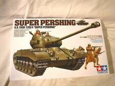 1/35 Tamiya US Tank Super Pershing T26E4 w/ 3 GI's in Winter Gear # 319
