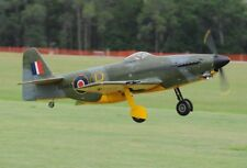 Martin-Baker MB 5 Prototype Fighter Aircraft Mahogany Wood Model Replica Large
