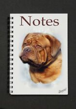 Dogue de Bordeaux Notebook/Notepad with small image on every page By Starprint