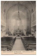 CPA 92 - BOULOGNE (Hauts de Seine) - Ecole Diocésaine Notre-Dame - Chapelle