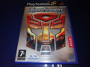 PS2: Transformers (Factory Sealed Condition) PAL.