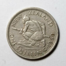 NC0031 Nueva Zelanda 1950,  1 chelin - New Zealand, one shilling