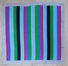 FISBA STOFFELS VINTAGE  SCARF  Geometric Multi colors 100% Silk.