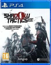 Shadow Tactics: Blades of the Shogun (Playstation 4) NEW & Sealed