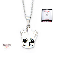 Groot Shiny Pendant On Chain Necklace Marvel Comics: Guardians Of The Galaxy
