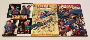DC Batman and Superman Generations 1-2 & Batman & Captain America TPB