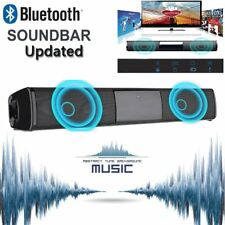 SOUND BAR TV Home Theater 3D Wireless Bluetooth Speaker Soundbar Subwoofer AUX