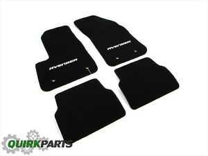 12-14 Dodge Avenger PREMIUM CARPET FLOOR MATS FRONT & REAR SET OF 4 OE NEW MOPAR
