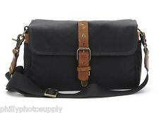 ONA The Bowery Canvas (Black) Camera Bag - Handcrafted Premium Bag