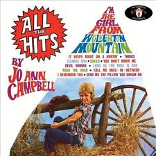 JO ANN CAMPBELL - I'M THE GIRL FROM WOLVERTON MOUNTAIN (CD 2013) 19 TRACKS