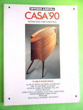 INTERNI ANNUAL CASA '90 INTERNATIONAL HOME FURNISHINGS.CATALOGO ARREDAMENTI