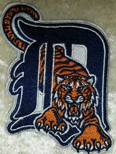 """Detroit Tigers """"D"""" Big 3"""" Iron On Embroidered Patch ~ FREE SHIP!!~"""