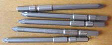 Set of 5 Desoutter 3mm Hex Power No 0 Screwdriver Bits 80782