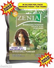100g Zenia BHRINGRAJ powder MAKA HairFall delays Graying repair Damage foilpack