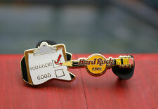 You Rock! Hard Rock Cafe Restaurant Lapel Pin Pinback Clipboard Pencil Guitar