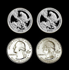 2012 P+D+S+S El Yunque Set ~ America the Beautiful National Parks ~ Proof / Mint