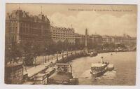 London postcard - Thames Embankment & Cleopatras Needle, London