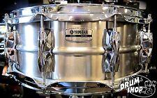 Yamaha Recording Custom 14x5.5 Stainless Steel Snare Drum
