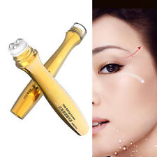 24K Gold Roll-on Collagen Eye Cream Serum Anti-Dark Circle Essence Care Beauty