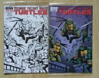 IDW Mexico Teen Mutant Ninja Turtles #1 Color & Sketch Covers