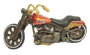 Hot Wheels Harley Davidson FXSTS Springer Custom 1:18 Motorcycle