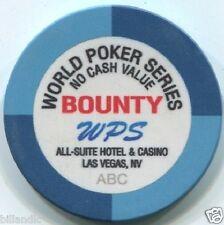 (1) 10 gm 39 mm ceramic WPS BOUNTY ABC poker chip