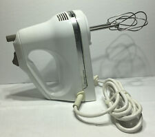 KitchenAid KHM3WH2 Classic 3-Speed Hand Held Mixer, White 3 Settings Electric
