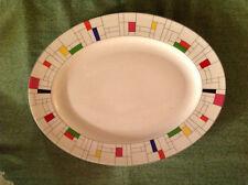 Lenox Kate Spade Gramercy Park  Large Serving Platter ~ Mondrain Inspired
