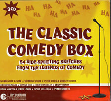 The Classic Comedy Box CD Set - UK -M Charlie Drake, Peter Cook and more