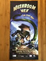 Mushroom Men & Insecticide Wii DS Nintendo Power Vintage Video Game Poster Rare