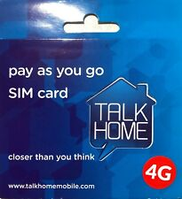 Talk Home GOLD VIP EASY MOBILE PHONE NUMBER SIM CARD TALK HOME NETWORK