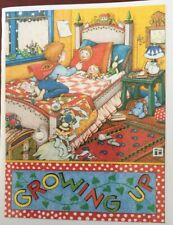 Mary Engelbreit Handmade Greeting Cards-Growing Up