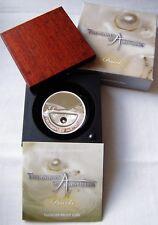 2011 Treasures of Australia 1oz Silver 99.9%  & Pearls Proof Coin