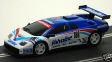 55042 Ninco Scalextric Lamborghini Diablo GTR Valvoline Slot Car Racing New Case