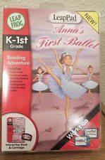 NEW~LEAP FROG~Leap Pad~ANNA'S FIRST BALLET~Book & Cartridge~Reading~K-1st