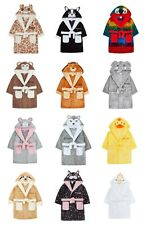 Baby and Child Dressing Gown 6mths to 6yrs Animal Design PERSONALISED Great Gift