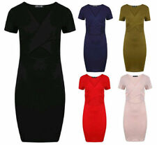Viscose Stretch, Bodycon Unbranded Solid Dresses for Women