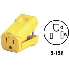 50 Pk Leviton 15A 125V 3-Wire 2-Pole Python Electric Cord Connector 081-5259VY