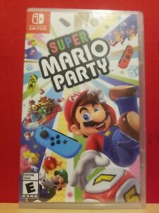 Super Mario Party (Nintendo Switch, 2018) New Sealed Game