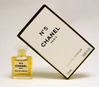 CHANEL No 5 1.5 ML. 0.05 FL.OZ.  MICRO MINI EAU DE PARFUM NEW IN BOX