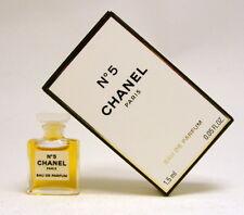 CHANEL No 5 1.5 ML. 0.05 FL.OZ.  MICRO MINI EAU DE PARFUM NEW IN BOX